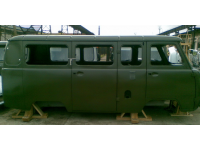 Кузов (МИКРОАВТОБУС мягкие сиденья, ) инжек. Евро-4, стол,щиток н/о защитный