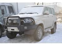 Бампер силовой передний «КИТОБОЙ» на УАЗ Патриот 2015 г. в.